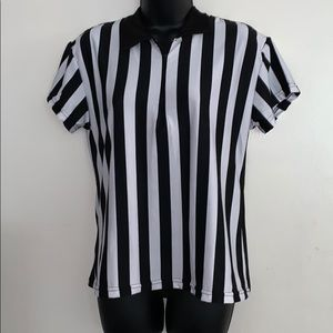 Referee Halloween Costume Top Size XL